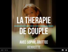 Thérapie de couple la vidéo